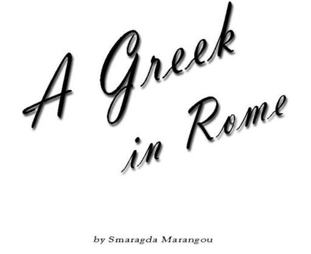 A Greek in Rome