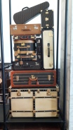 Vintage suitcases. A traveller's eye candy